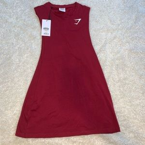 NWT Gymshark Red Tank Top